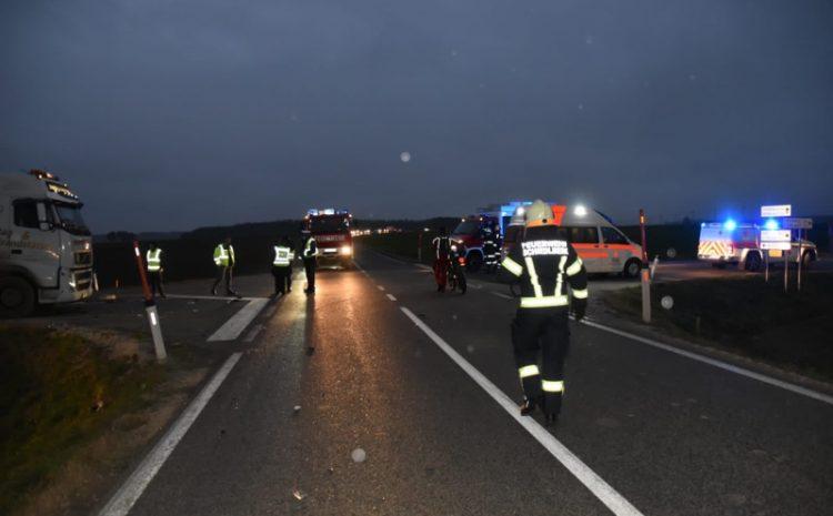 16.11.2020 Verkehrsunfall