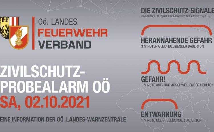 02.10.2021 Zivilschutz Probealarm